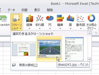 エクセル 画面 コピー
